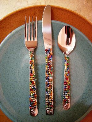 Heffron blog: fiesta flatware