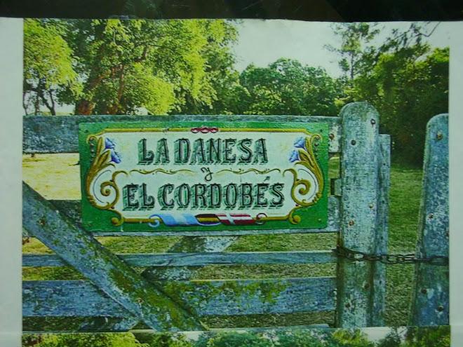 Entrada a una casa de campo en General Belgrano.