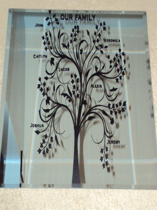 Veronica S Cricut Creations Family Tree Vinyl Project