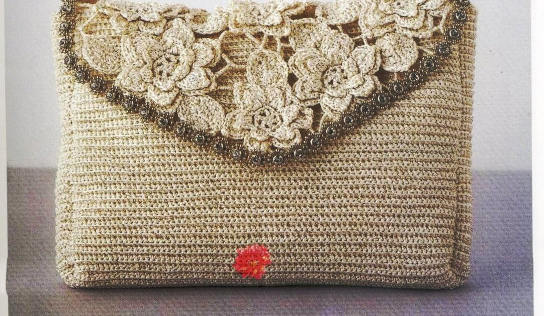 Bolsa De Mão Em Crochet : Sweet crochet by silvana vargas y beb?