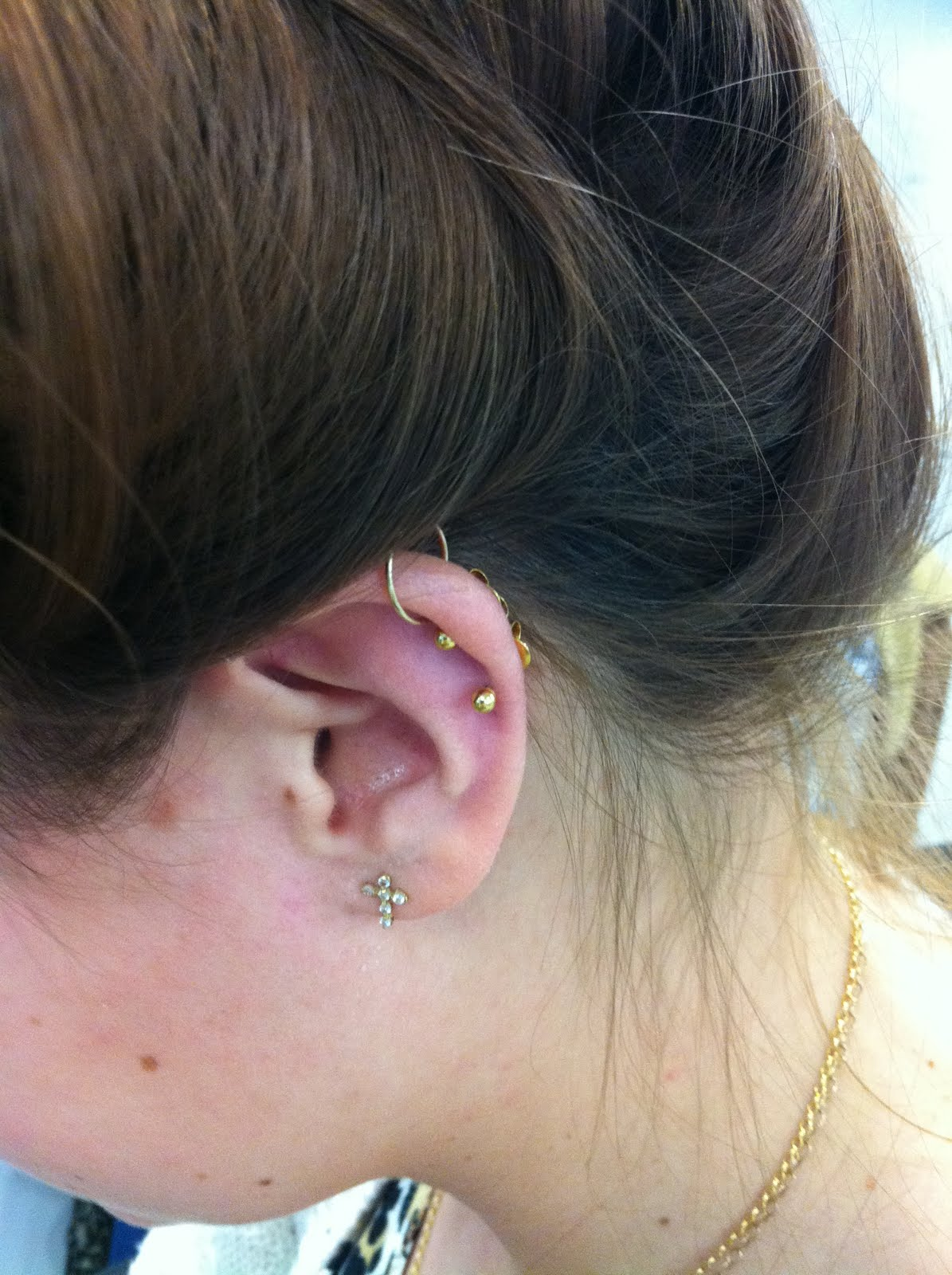 Fashion Editor : Ear Piercing At Claire's