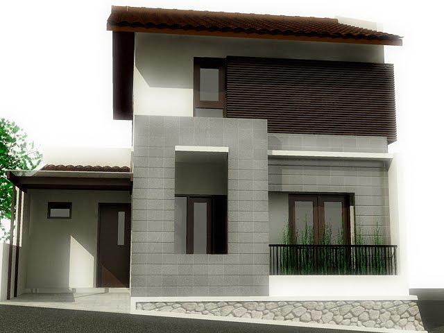 Rumah Tanpak Depan