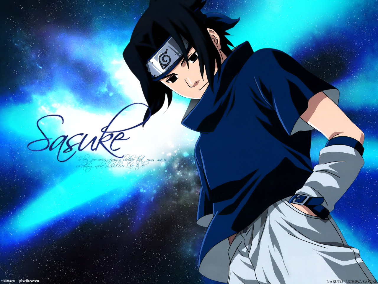 seven sasuke wallpaper