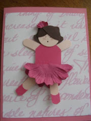 Dancing Girl Card
