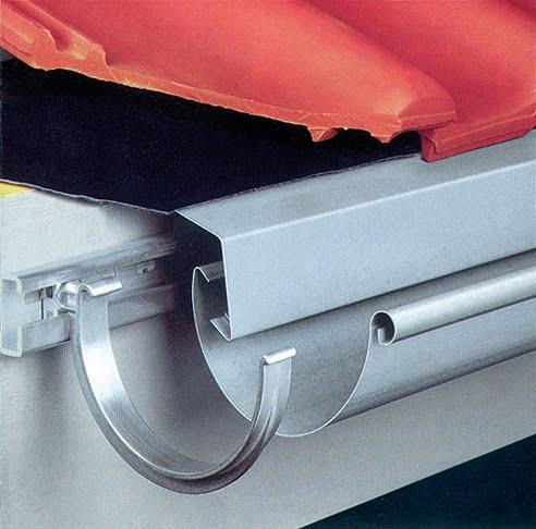 Tricanal instalaciones de canalones y accesorios for Canalon de aluminio