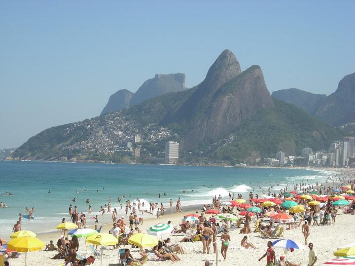 Rio de Janeiro, playa de Leblon