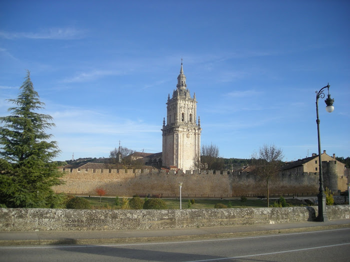 Burgo de Osma, la torre de la catedral