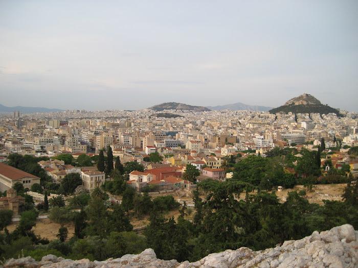 Atenas, desde el monte Licavitós