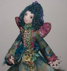 Hoffman Fabric Challenge Doll 2008