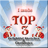 Top 3 at Delightful Sketches