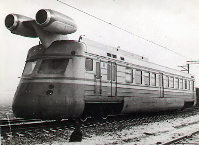 Jet Engine Train