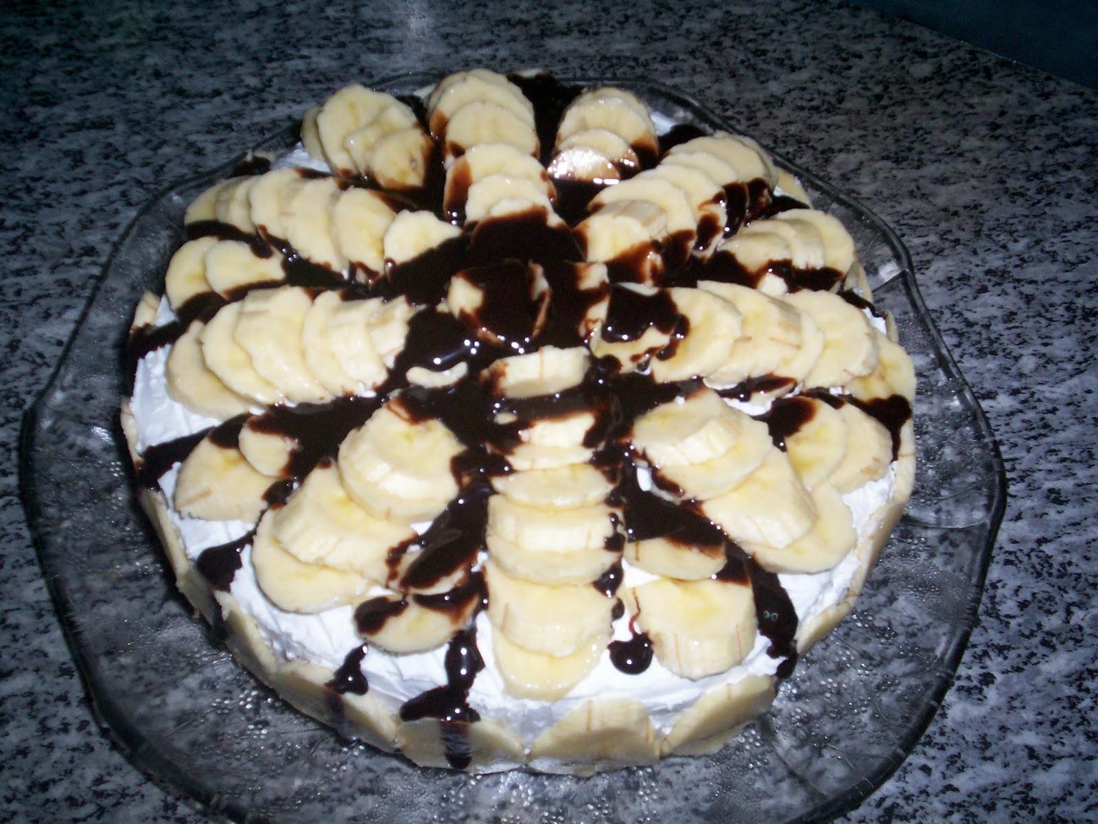 nugatlı pasta tarifi resimli middot muzlu çikolatalı pasta