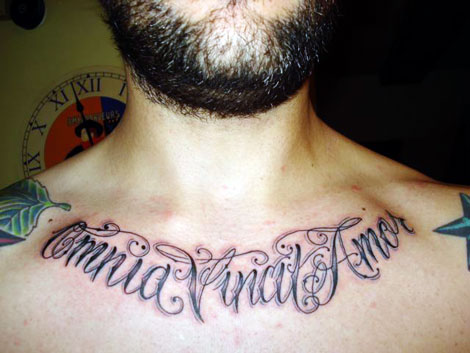 old english lettering tattoos. Old English Lettering Tattoo