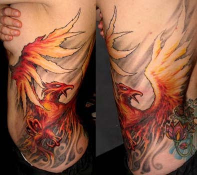Japanese Phoenix Tattoo