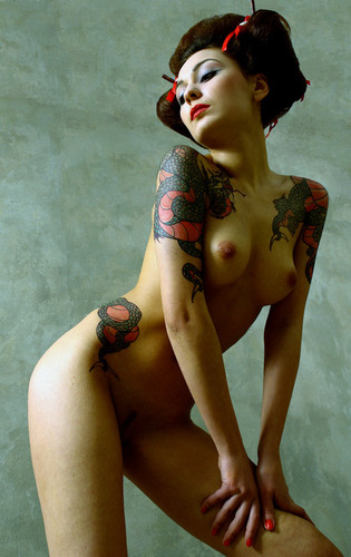 Find classic japanese tattoo art at chopper tattoo.