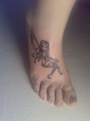 It is under such message that butterfly foot tattoos have become popular in 