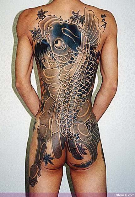 koi tattoo gallery. koi tattoo designs.