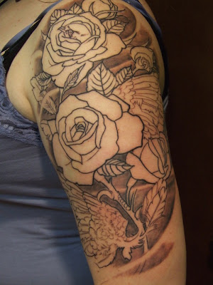 catfish tattoo designs. Rose Tattoo Designs