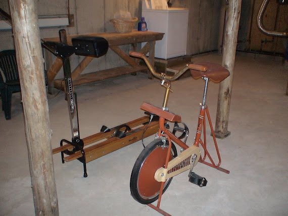Workout Equipment-Basement