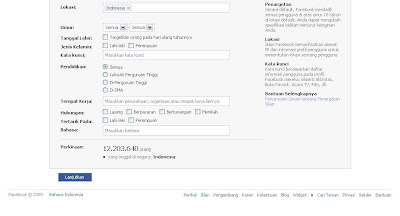 Data Total Facebookers Indonesia