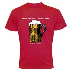 apt-get beer t-shirt