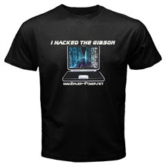 hack the gibson t-shirt