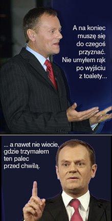 Z wystąpień Pana Premiera...