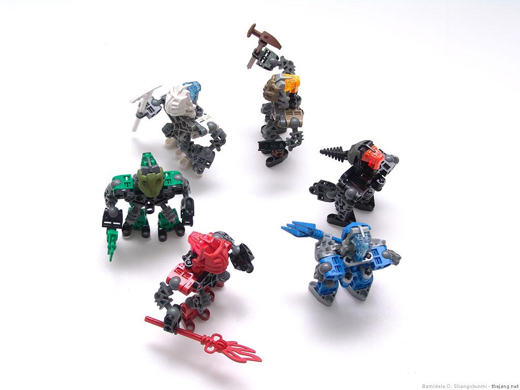 lego bionicle mocs krana possessed matorans