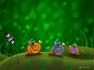 Image enfant: les escargots