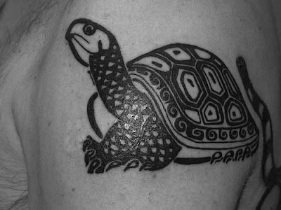 old school tattoo script tribal sea turtle tattoo. Tribal Turtle Tattoos
