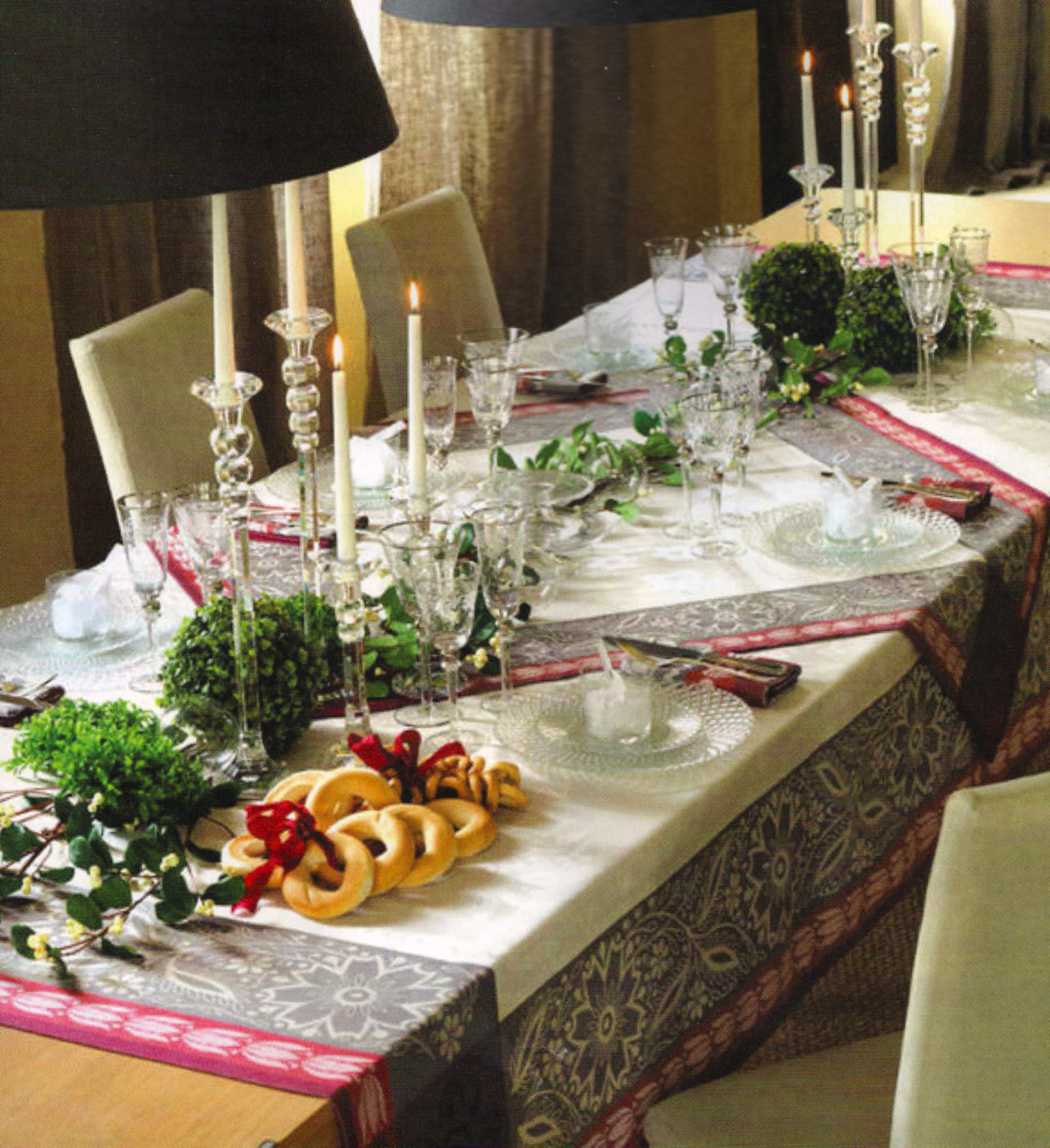 Splendid sass christmas tablescapes - Comment decorer sa chambre pour noel ...