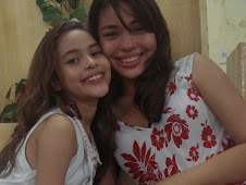 As filhas Karol e Isabelle