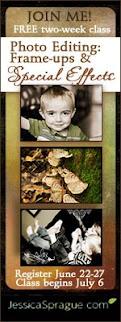 Free Photo Editing Class By Jessica Sprague