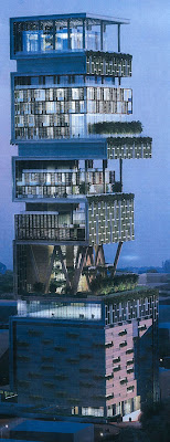 Antilla_Mukesh Ambani's New Home