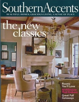 Southern Accents Magazine November/December 2007 Make It a Season of Style
