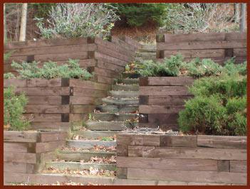 Heritage Garden Design Garden Steps