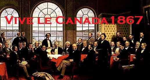 Vive le Canada 1867