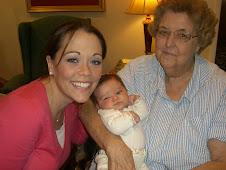 Katie, Emma and Nana