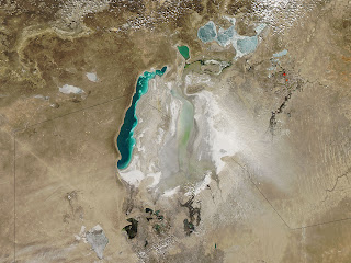 Dying Aral Sea