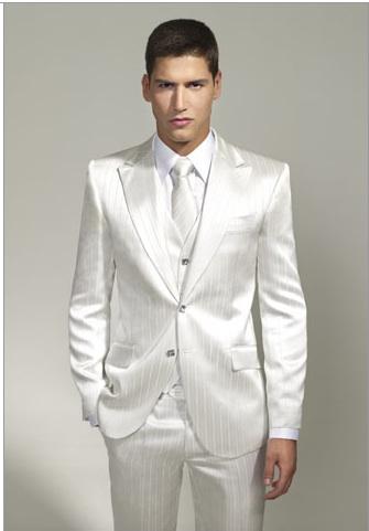 Bodas trajes para novios for Trajes de novio blanco para boda