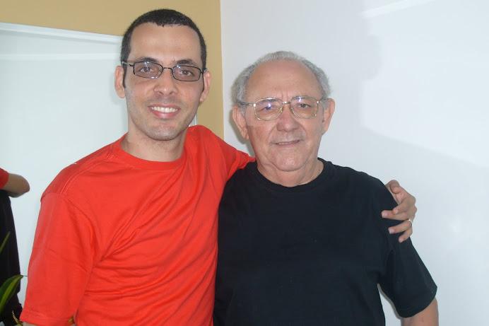 Eu e Geraldo Pereira (Pai)