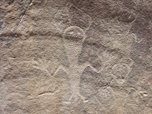 Petroglyph, Dinosaur National Monument, Utah