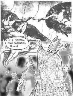 Humor gráfico sobre las religiones y dioses - Página 4 Caricatura
