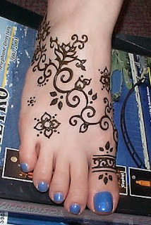 Temporary tattoo ink feet tattoos henna picture