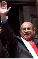 Gobierno Transitorio: Presidente Valentín Paniagua
