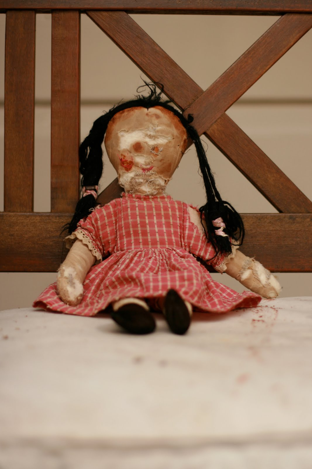 The Most Scariest Picture In The World Is this the scariest doll in