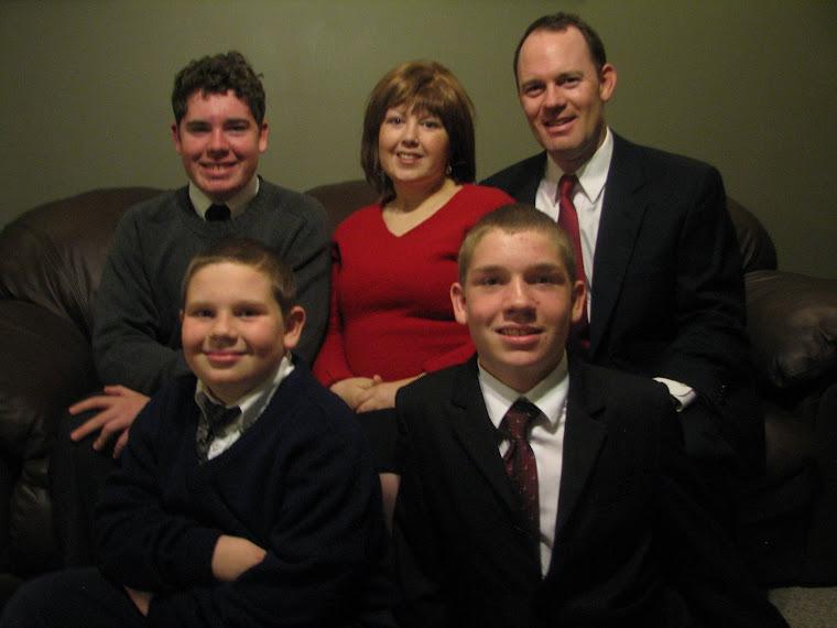 Ellis Family - December 2008