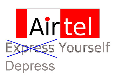 airtel depress yourself customer care