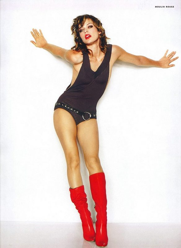 milla jovovich and naked. Milla Jovovich Fifth Element