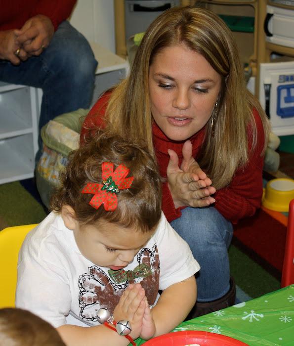Madelyn praying